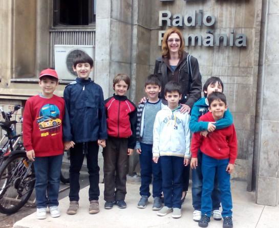 Gyermeknap a Bukaresti Rádióban