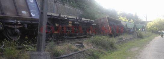 Kisiklott egy tehervonat Orsovánál