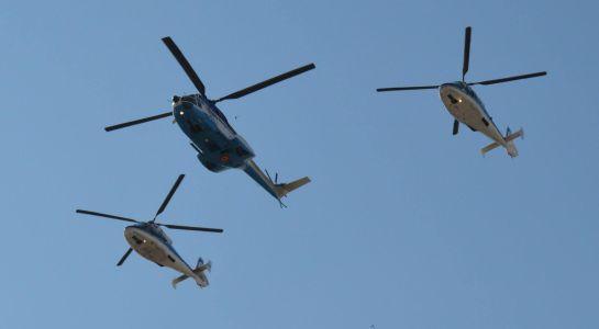 Összeütközött az afgán légierő két helikoptere, sokan meghaltak