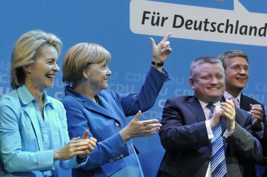 Merkel népszerűsége még mindig növekvő tendenciát mutat