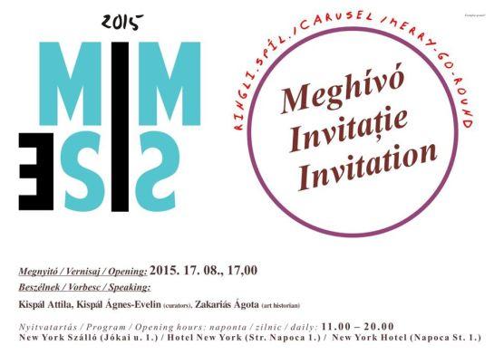Mimesis first edition – művészet a 6.Kolozsvári Magyar Napokon