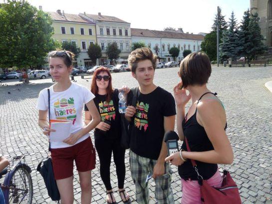Idegen?-Vezetjük!- önkéntes diákidegenvezetők Kolozsváron