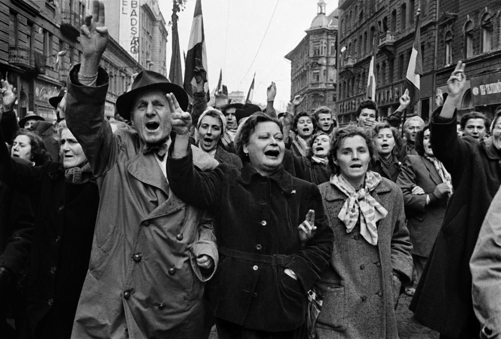 1956 október 23-án robbant ki Magyarországon a forradalom