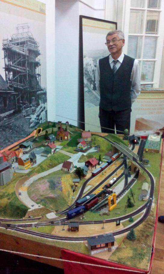 Vasúttörténeti kiállítás Bukarestben