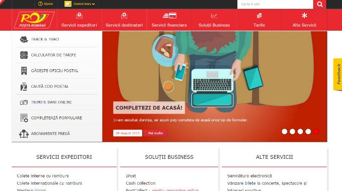Virtuális üzletet nyit a Román Posta