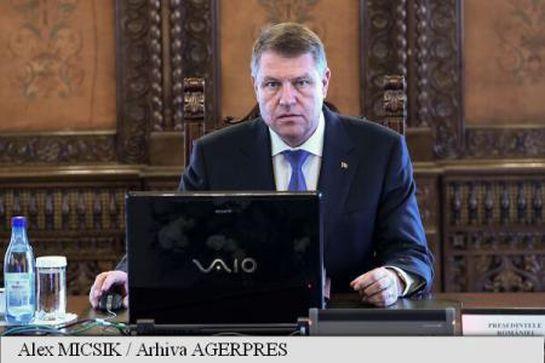 Ma ülésezik a Legfelsőbb Védelmi Tanács Klaus Johannis elnökletével.