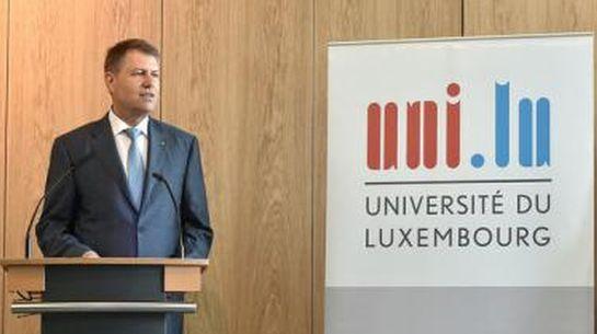 Johannis a Luxemburgi Egyetemen