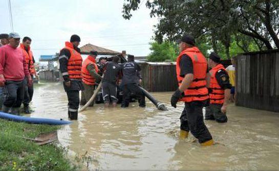 Hirtelen felhőszakadás okozott súlyos károkat az ország több megyéjében