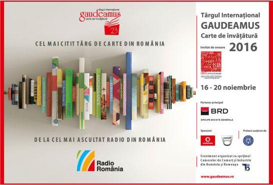 Kezdődik a Gaudeamus Könyvvásár Bukarestben
