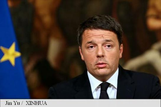 Lemondott Matteo Renzi