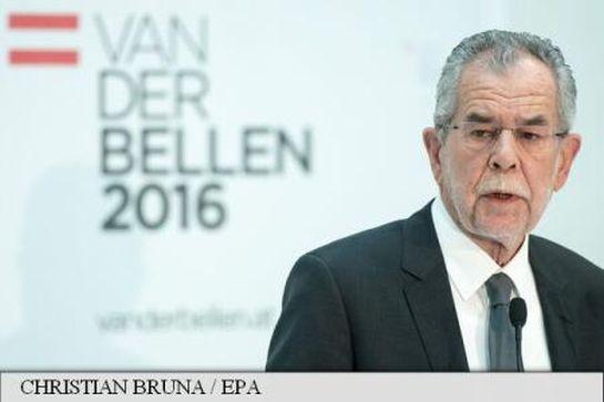 """Van der Bellen, a """"halványzöld elnök"""""""