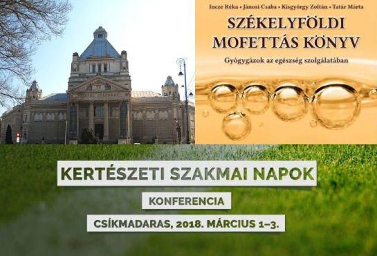Bemutatták a Székelyföldi mofettás könyvet & Kertészeti konferenciát tartanak Csíkmadarason