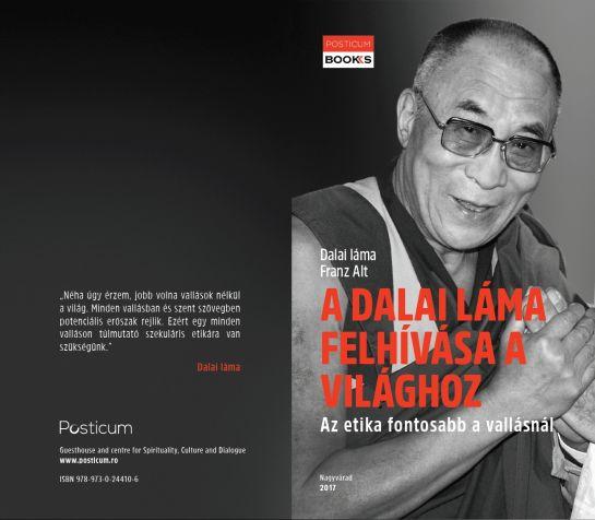 Bukarestben is bemutatták a dalai láma üzenetét hordozó interjúkötetet