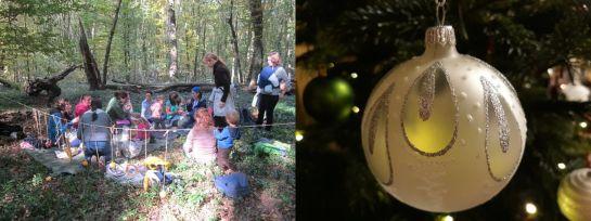 Erdei óvoda & Családi csodavárás & Férfiszerep a karácsonyi előkészületekben