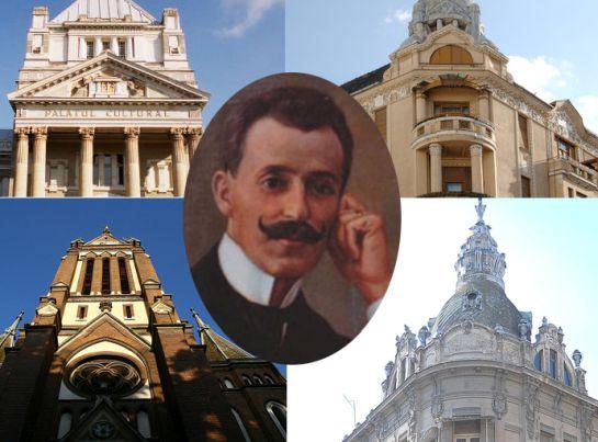 Szobrot állítottak a mai Arad arculatát meghatározó Szántay Lajos építésznek