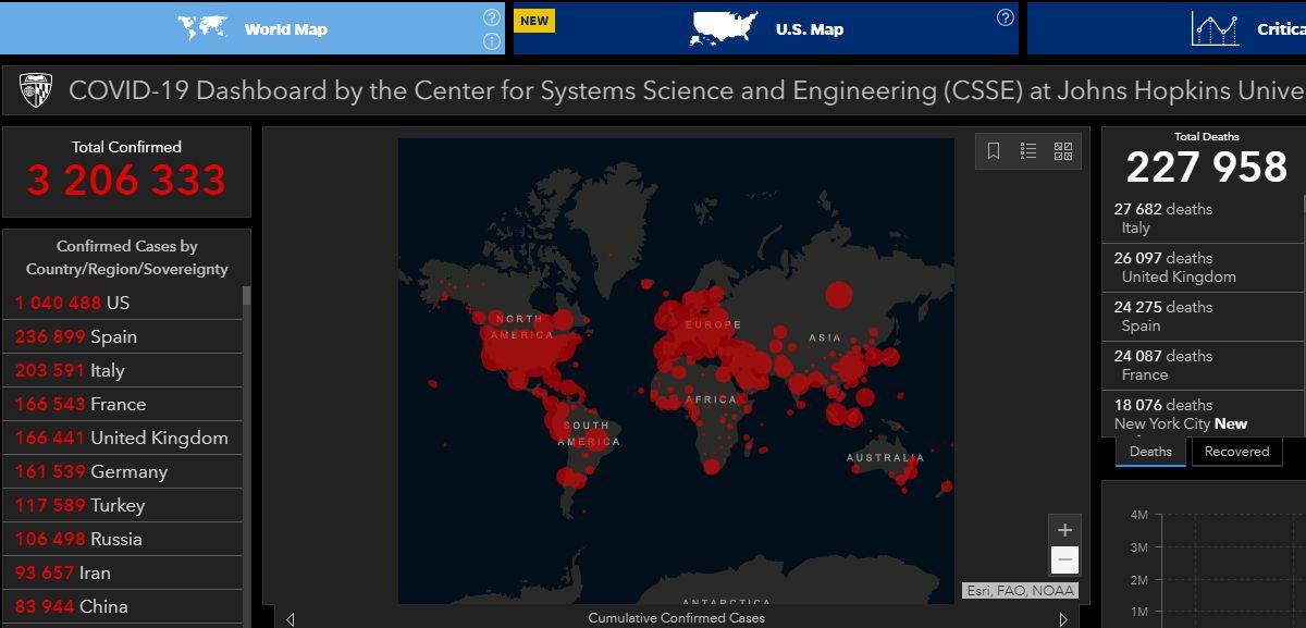 Koronavírus a világon és Magyarországon