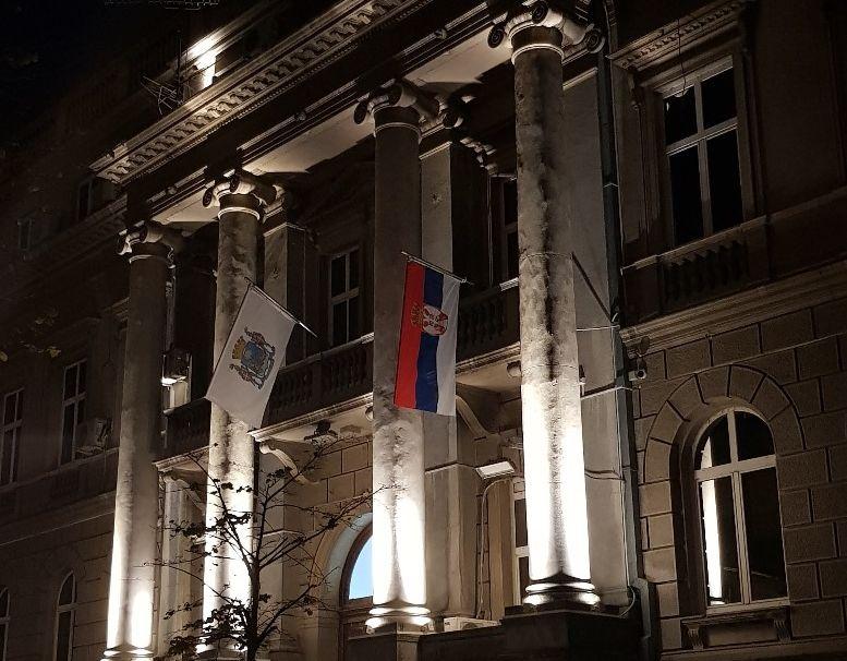 A kijárási tilalom ellen tiltakoztak a fiatalok Belgrádban