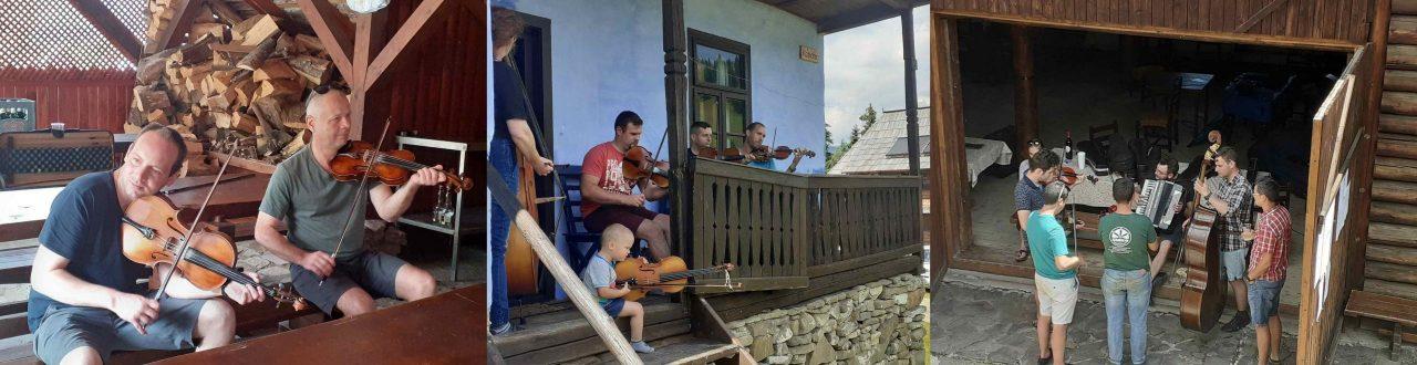 Táncházzenészek találkoztak Borospatakon