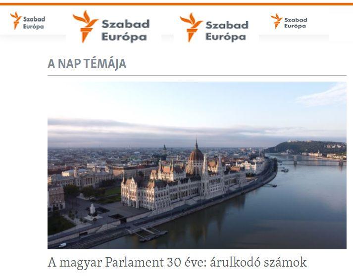 Elindult a Szabad Európa magyar nyelvű híroldala