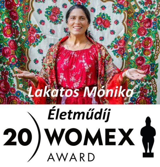 Lakatos Mónika lett az idei Womex Artist Award nyertese