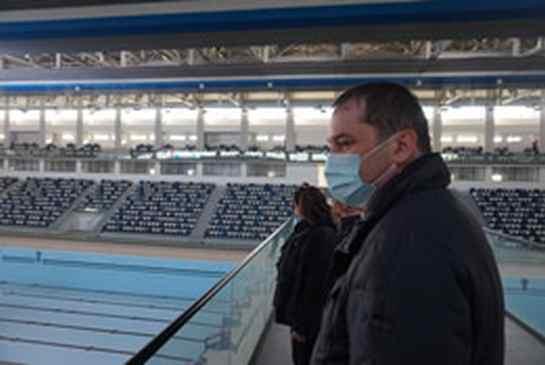 Úszóközpont Otopeniben
