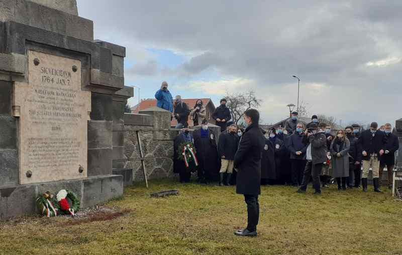 A székely áldozatokra emlékeztek Madéfalván