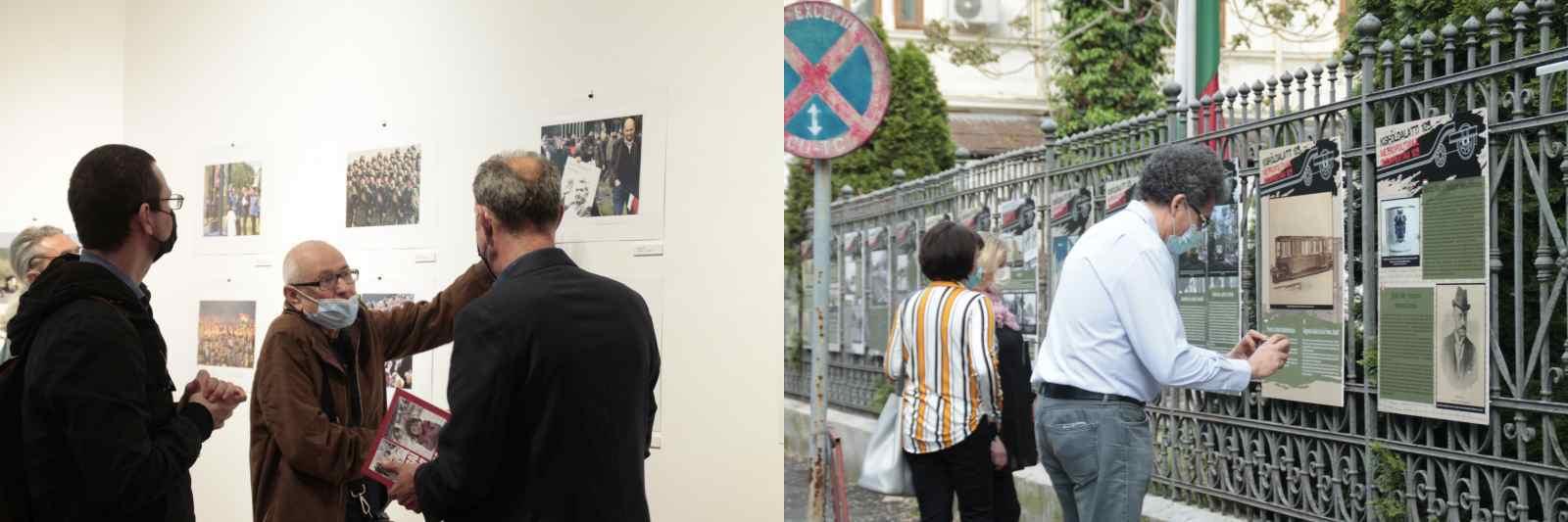 Sajtófotók és kisföldalatti évfordulós kiállítás