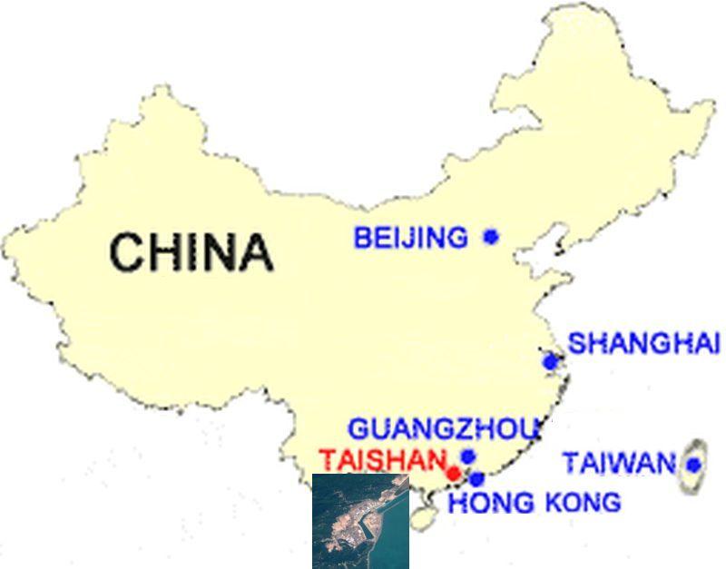 Meghibásodott egy kínai atomerőmű