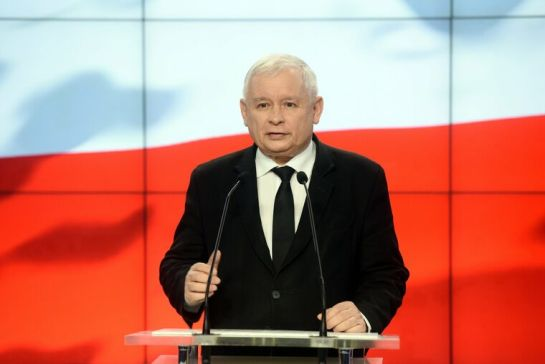 Továbbra is Jarosław Kaczyński a lengyel Jog és Igazságosság párt elnöke