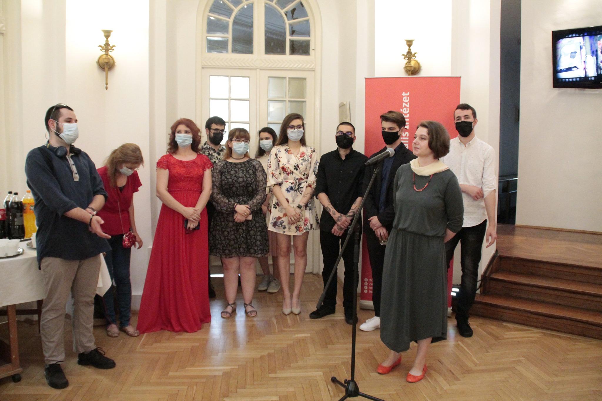 Végzős képzőművészek a Bukaresti Magyar Kulturális Intézetben