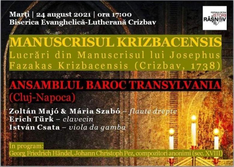 Transylvania Barokk Együttes: Krizbacensis kézirat