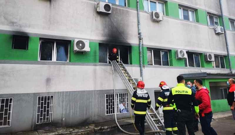 Tűz volt az intenzív osztályon Konstancán